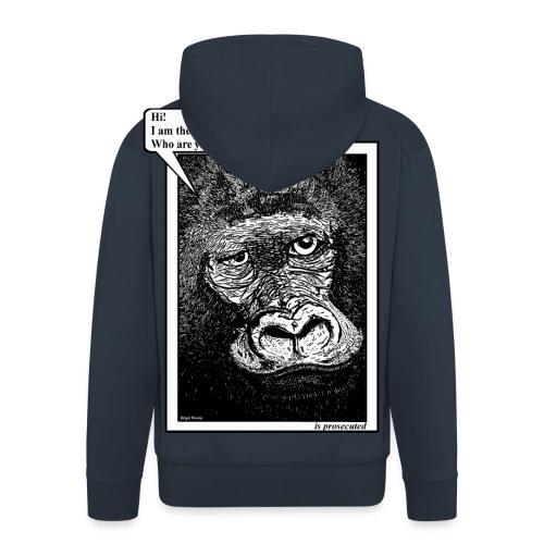 mannen jack gorilla - Mannenjack Premium met capuchon