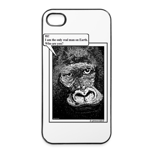 iPhone 4/4s case gorilla - iPhone 4/4s hard case