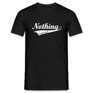 T-shirts ~ Mannen T-shirt ~ Nothing on the hand
