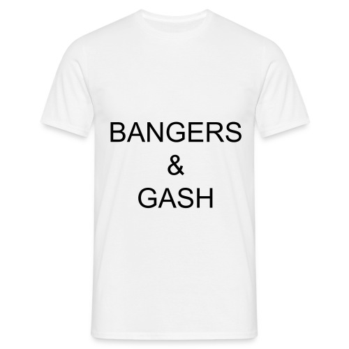 Bangers and gash - Men's T-Shirt
