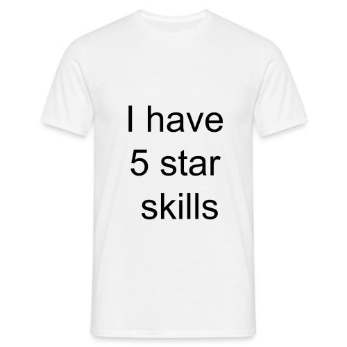 5 star skills - Men's T-Shirt