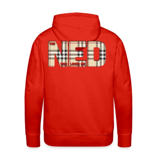 The Ned Who Loved Me - Men's Premium Hoodie