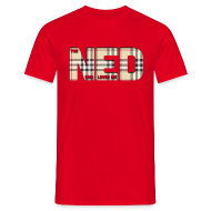 T-Shirts ~ Men's T-Shirt ~ The Ned Who Loved Me