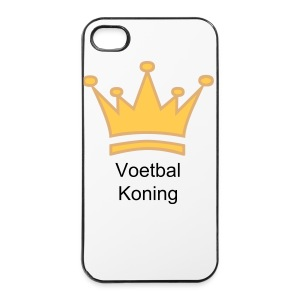 iPhone 4/4s hard case - Voetbal Koning iPhone Case