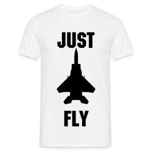 T-Shirt Just Fly - Avion de chasse - T-shirt Homme