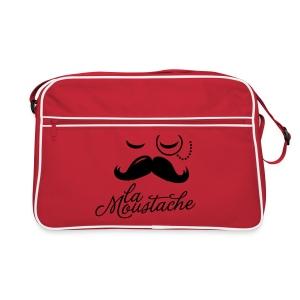 La Moustache tas - Retro-tas