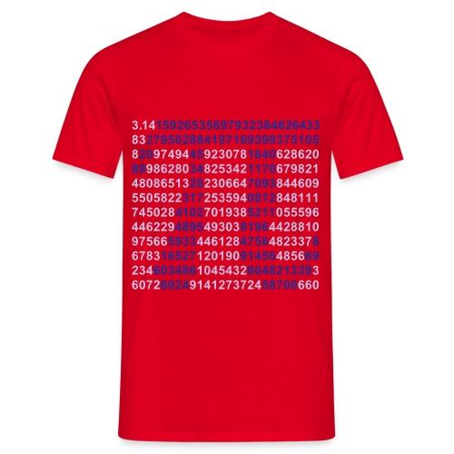 Camiseta Pi - Camiseta hombre