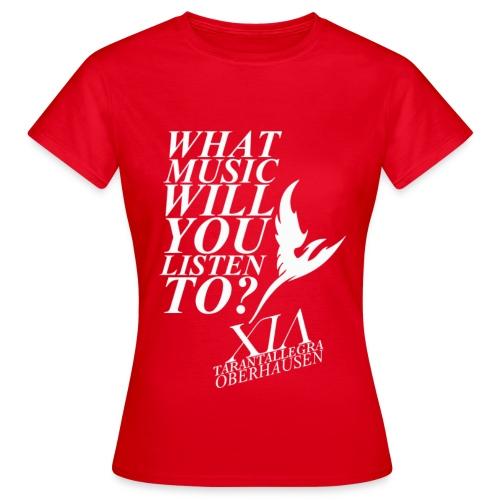 Official Fanclub Shirt / XIA World Tour Oberhausen  - Women's T-Shirt