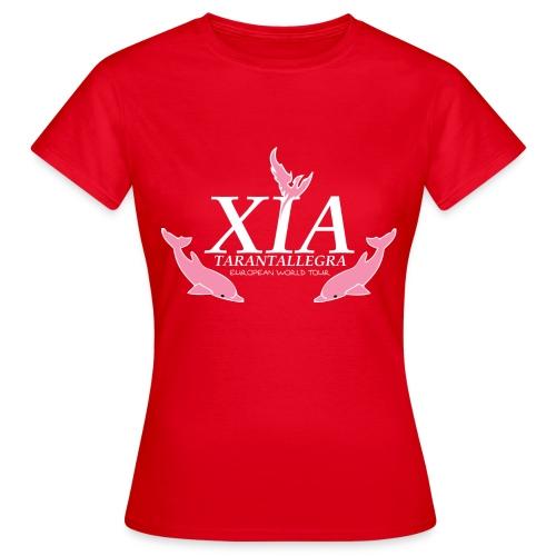 Official Fanclub Shirt / XIA World Tour  - Women's T-Shirt