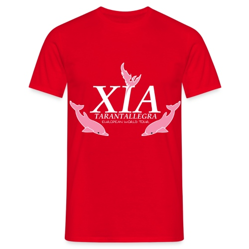 Official Fanclub Shirt / XIA World Tour  - Men's T-Shirt