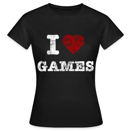 Games - Frauen T-Shirt