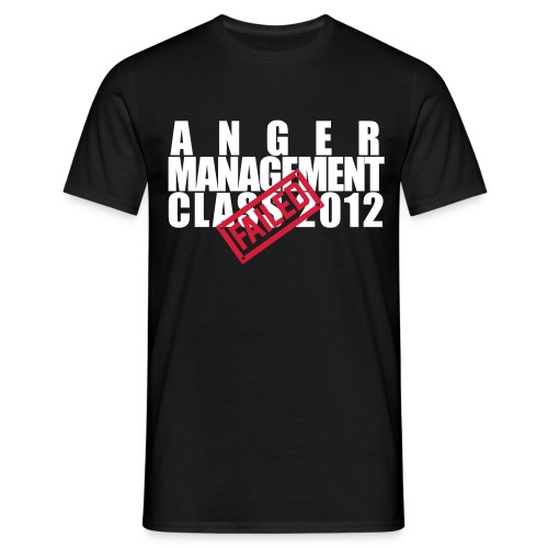 Anger Management Class - Männer T-Shirt