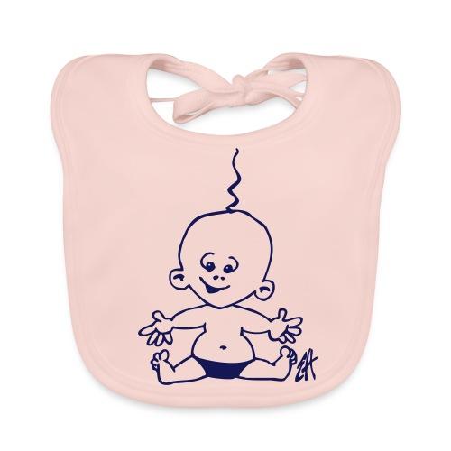Baby Slabber Meisje - Bio-slabbetje voor baby's