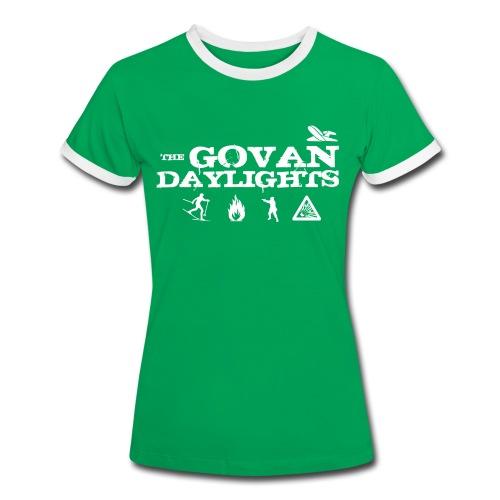 The Govan Daylights - Women's Ringer T-Shirt