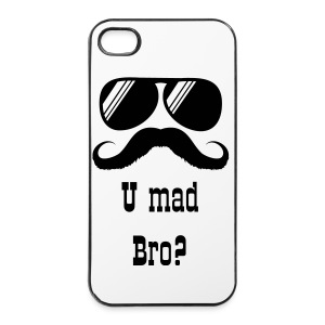 U Mad Bro? voor iPhone 4/4S - iPhone 4/4s hard case