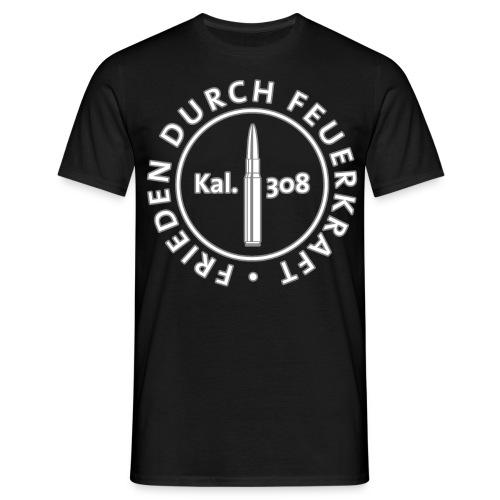 Frontdruck Thomas - Männer T-Shirt