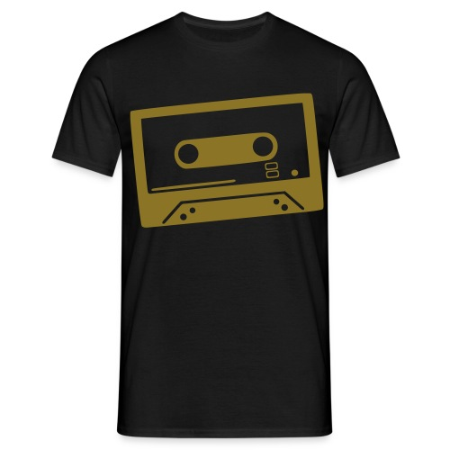 DJ T-Shirt 2 Guldmetall - T-shirt herr