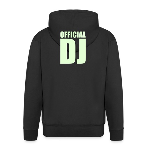 Official DJ - Men's Premium Hooded Jacket