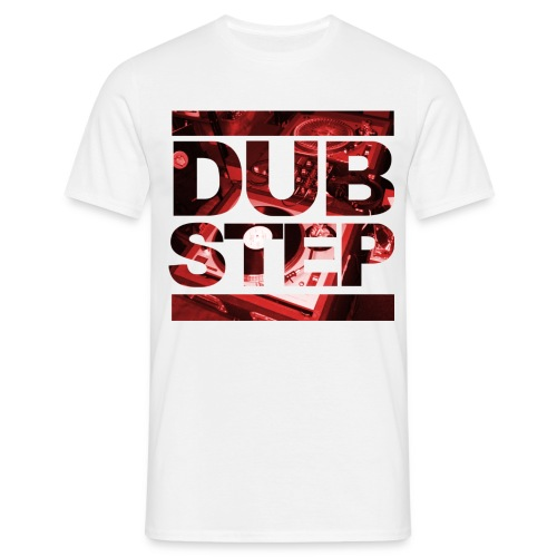 Men's Dubstep - Men's T-Shirt
