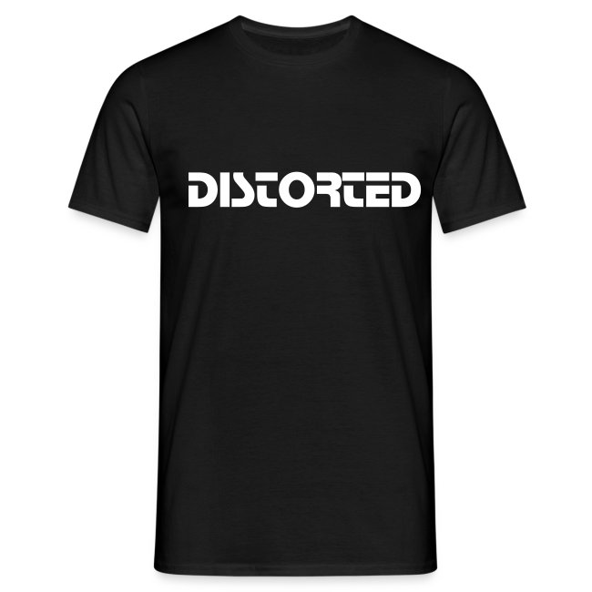 Distorted classic t shirt !