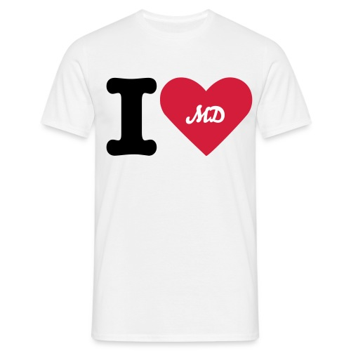 I LOVE MD BY MD - T-shirt Homme