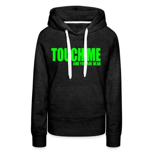 neon groen - Vrouwen Premium hoodie