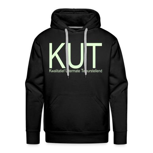 glow in the dark letters - Mannen Premium hoodie