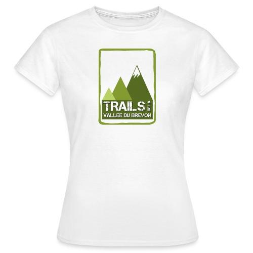 Tshirt blanc femme - T-shirt Femme
