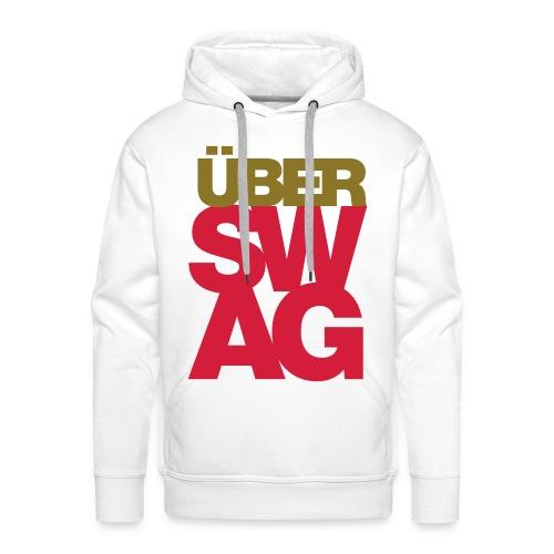 ÜberSwag-Sweater - Mannen Premium hoodie