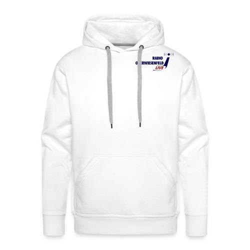 Männer Kapuzen-Pulli mit Logo - Männer Premium Hoodie