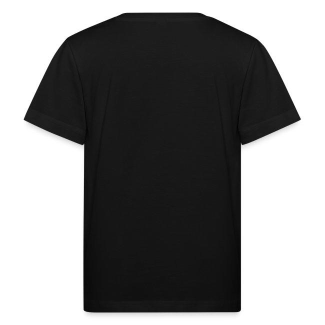 Kindershirt schwarz mit Logo