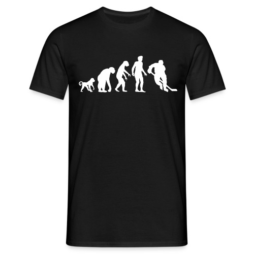 T-Shirt Hockey Evolution - Männer T-Shirt