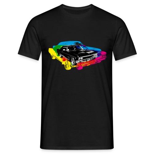 POPART AUTO - Mannen T-shirt