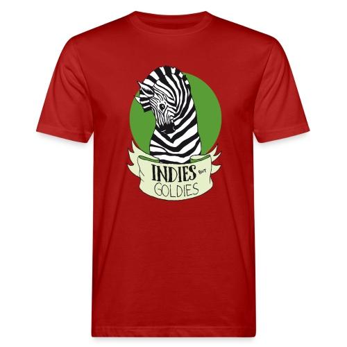 Indies But Goldies - Zebra - Männer Bio-T-Shirt