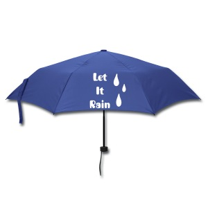 Let it rain - Paraplu (klein)