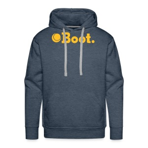Green with yellow logo - Click to choose colour - Men's Premium Hoodie