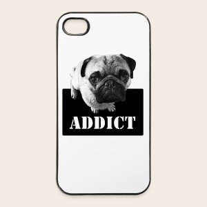 Mops Addict iPhone 4/4S Case - iPhone 4/4s Hard Case