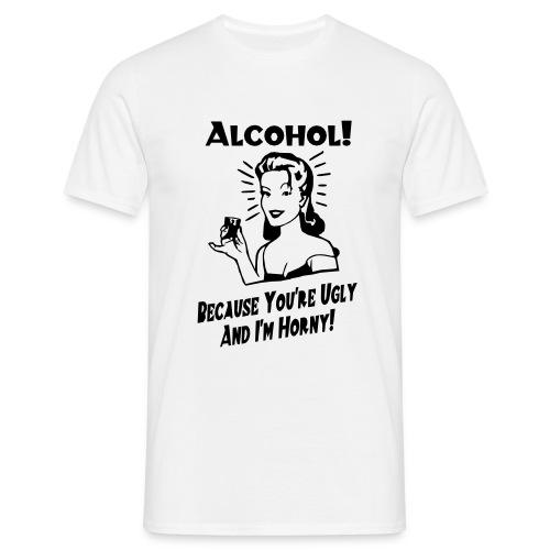 Men's classic alcohol t-shirt - Men's T-Shirt
