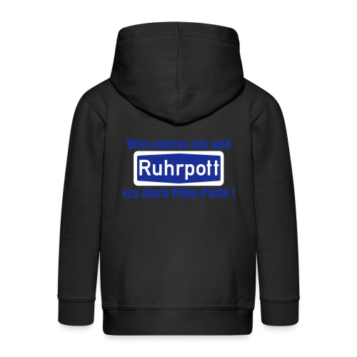 Ruhrpott_pille_palle - Kinder Premium Kapuzenjacke