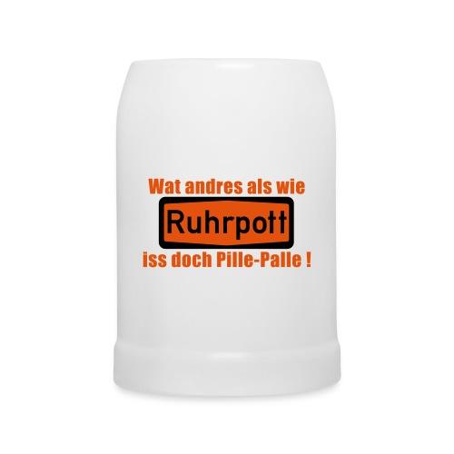 Ruhrpott_pille_palle - Bierkrug