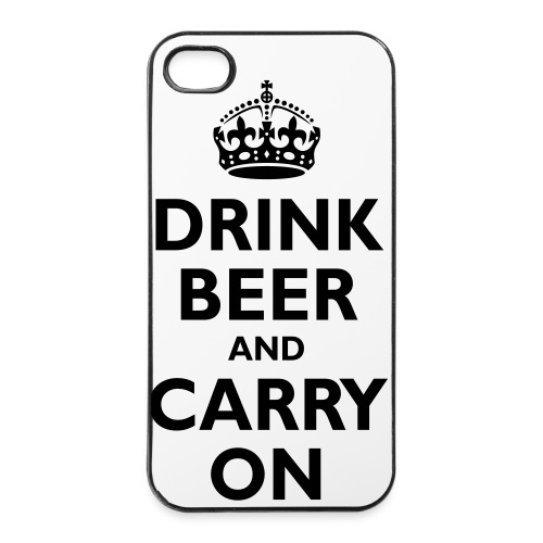 Drink beer - iPhone 4/4s Hard Case