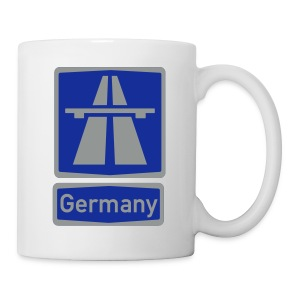 Autobahn_Germany - Tasse