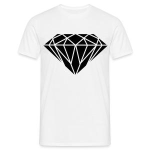 Male Black Diamond - Men's T-Shirt
