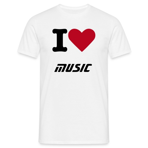 music is my weapon - Men's T-Shirt
