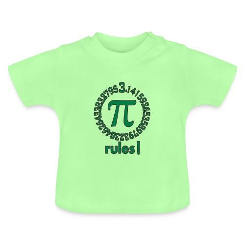 Pi_rules_2c - Baby T-Shirt