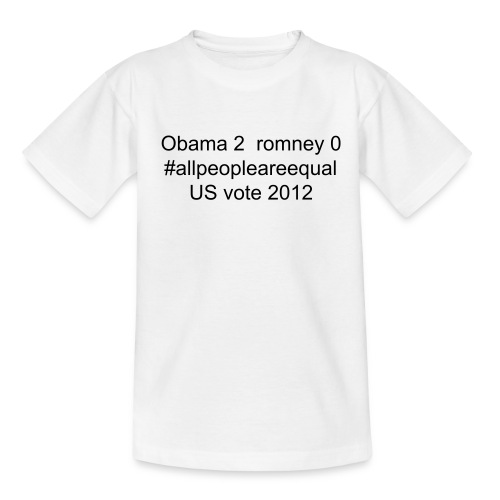 all people are equal us 2012 - Kids' T-Shirt