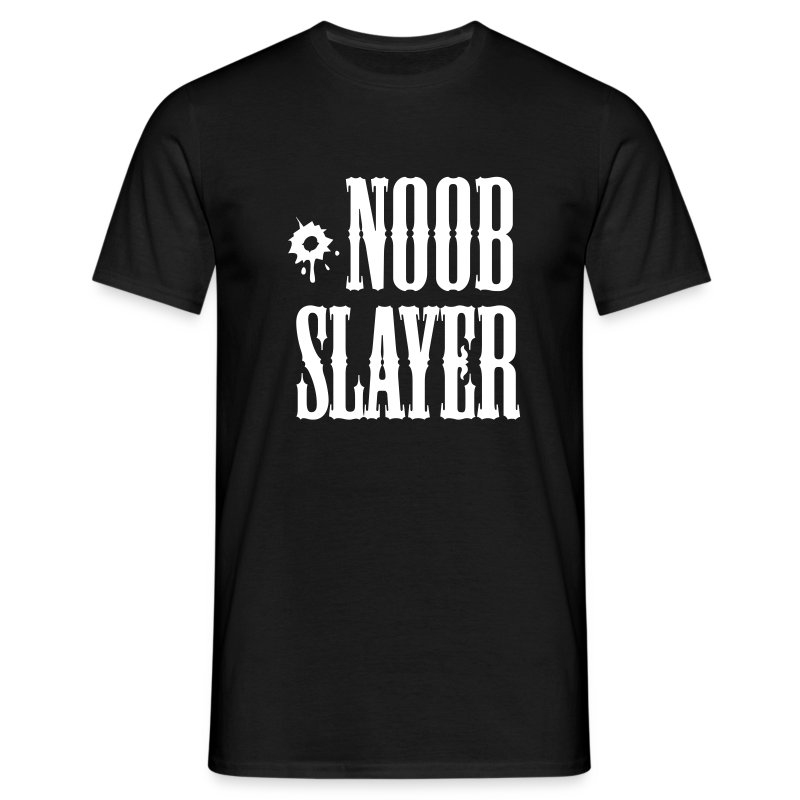 Noob slayer tshirt - Mannen T-shirt