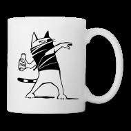 """Tassen & Zubehör ~ Tasse ~ """"Katze against"""" Tasse"""