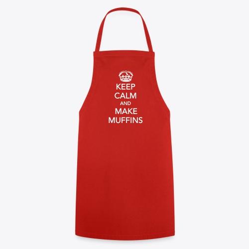 Keep calm and make muffins - Kochschürze