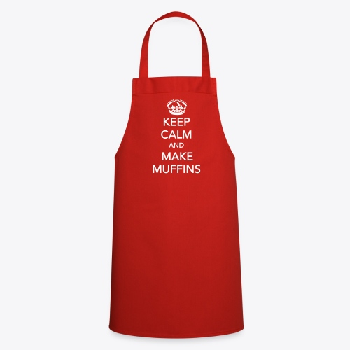 Keep calm and make muffins - Kochschürze